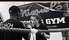 One to one personal training boxing london