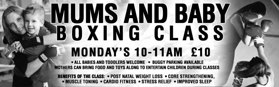 Mums and baby boxing classes South London