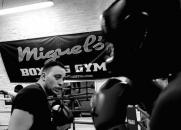 ABA boxing club, South London