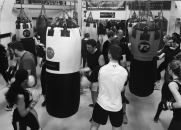 Mixed boxing classes, Loughborough Junction, South London