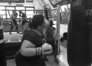 Beat obesity boxing class, south london
