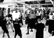 Boxing class, Loughborough Junction, London
