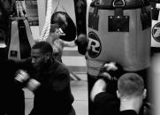 Boxing class, South London