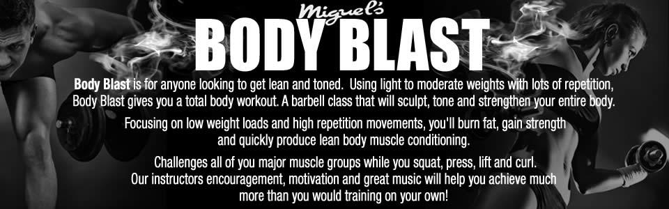 Miguel's body blast