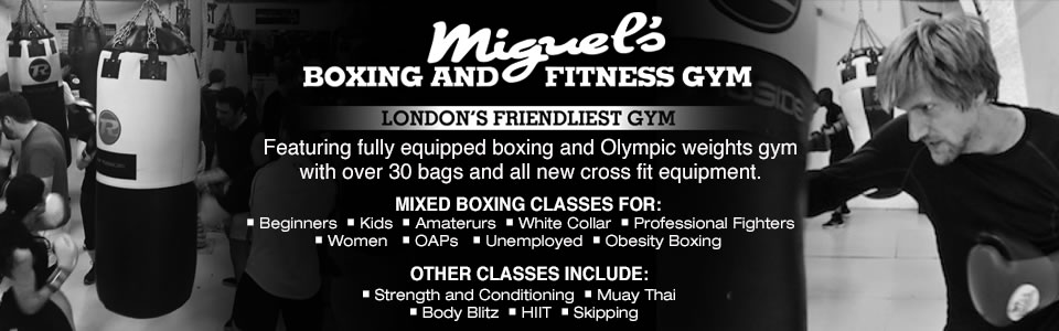 Miguels boxing gym south london