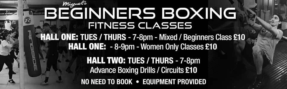 Beginners boxing classes South London