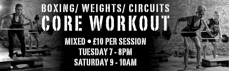 boxing weights circuits core workout south london